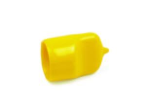 Cappuccio cilindrico in PVC con presa